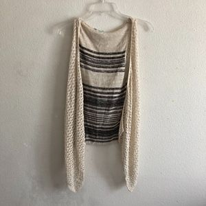 Maurices sleeveless knitted vest size L